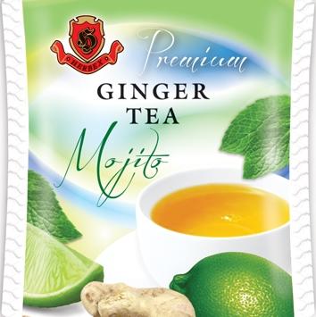 Zázvorový čaj Mojito